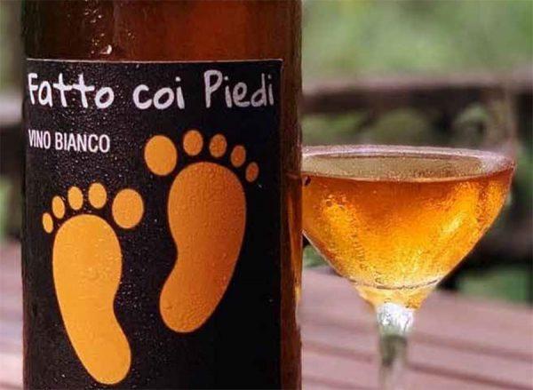 Fatto coi piedi - orange wine