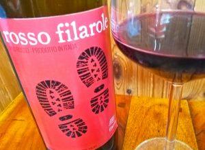 Rosso Filarole, natural wine